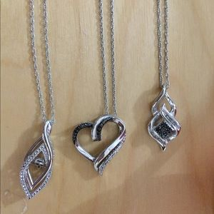 Jewelry - 3 necklaces from kays. Sterling silver